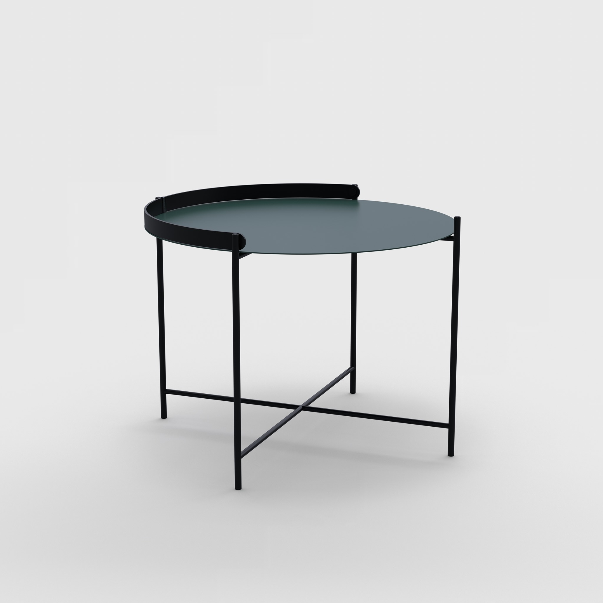 Tray table Ø62 // Pine green