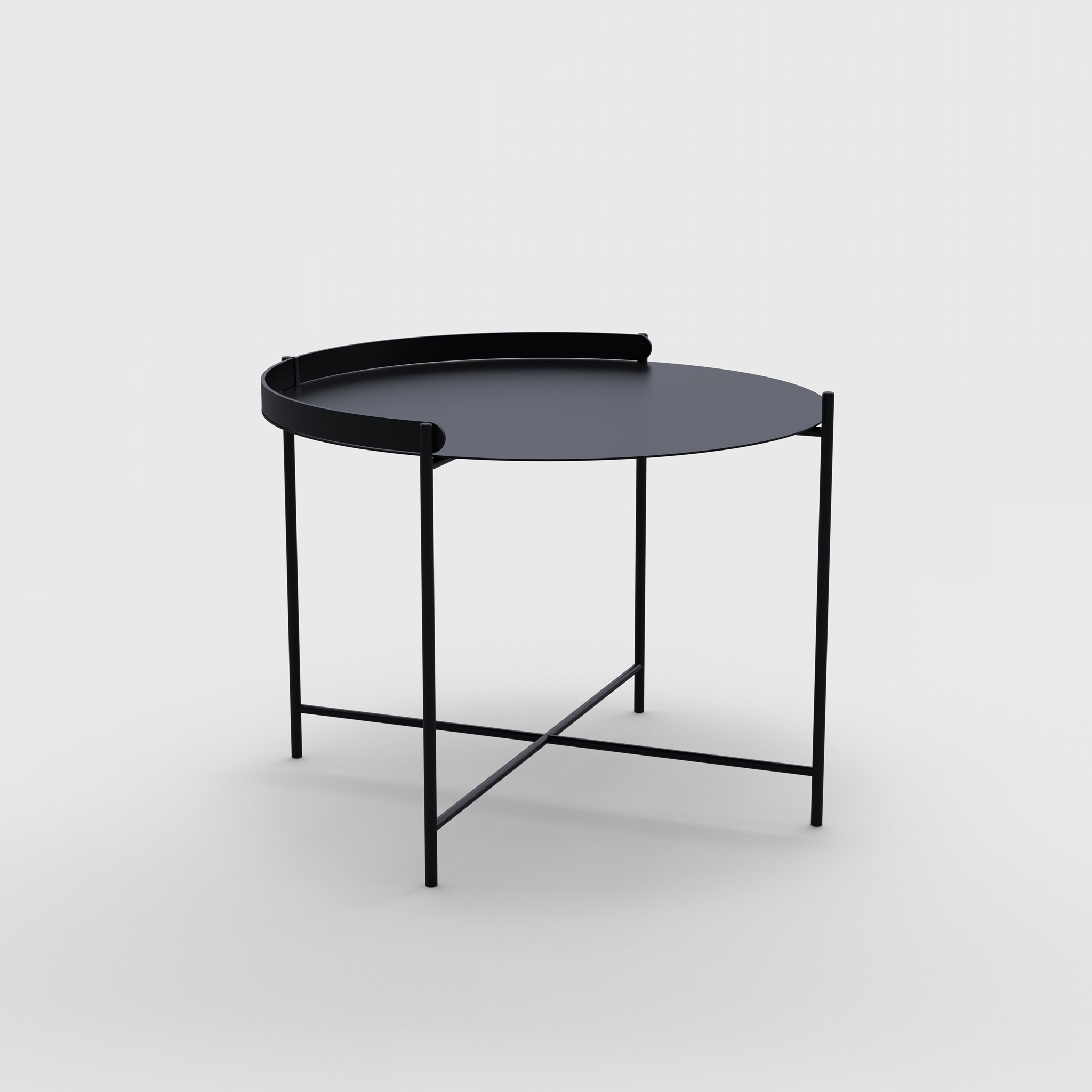 Tray table Ø62 // Black